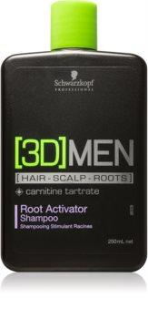 Schwarzkopf Professional [3D] MEN shampoing stimulateur pour les racines